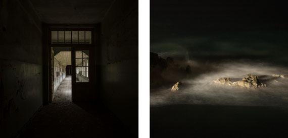 Gabriela Torres Ruiz#21 aus der Serie Silence (Diptychon), 2014 Pigment Print / Alu-dibond30 x 60 cm / 2x (30 x 30 cm)