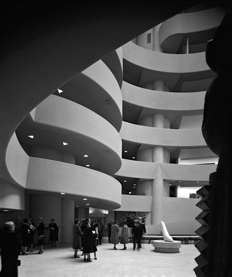 Ezra StollerGuggenheim Museum. Frank Lloyd Wright.New York, NY, 1959© Ezra Stoller, Courtesy Yossi Milo Gallery, New York