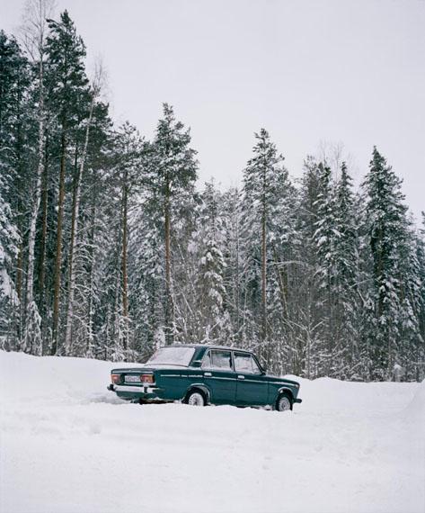 Genady's car, from the series Borealis, 2018 © Jeroen Toirkens/Kahmann Gallery