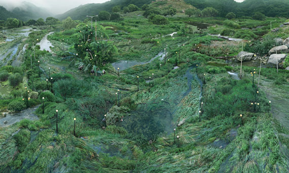 © WON SEOUNG WON, The Water-grass Network of IT Specialists, 2017. Courtesy of Arario Gallery (Seoul, Cheonan, Shanghai)PHOTOFAIRS | STAGED
