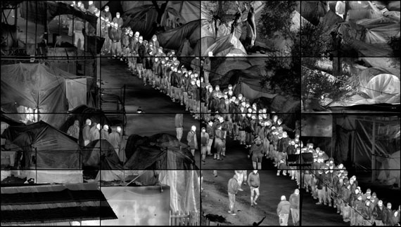 © Richard Mosse, Moria Grid 2017