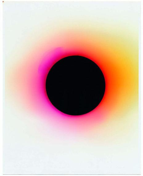 Nicolai Howalt, Wavelength 644 - o nanometer, from the series: Light Break, 2014–2017 . Courtesy the artist and Martin Asbæk Gallery, Copenhagen