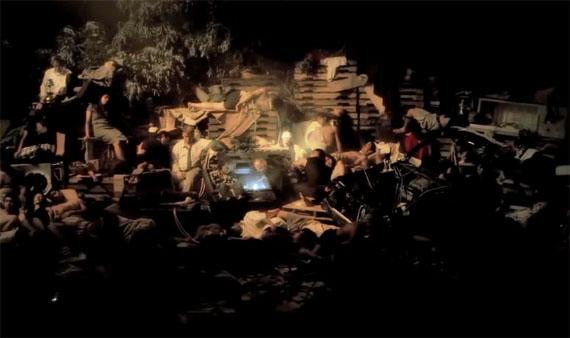 © HO TZU NYEN, Black To Comm - Earth (Water), 2012 video