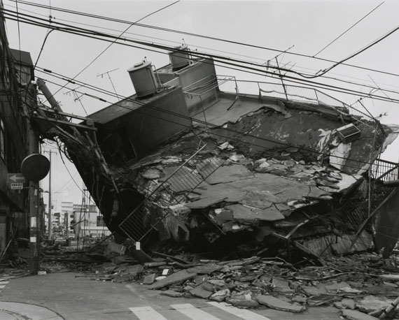 Miyamoto RyujiKobe 1995 After the Earthquake - Nagata-kuGelatin silver print51 x 61 cmCollection: Mori Art Museum, Tokyo