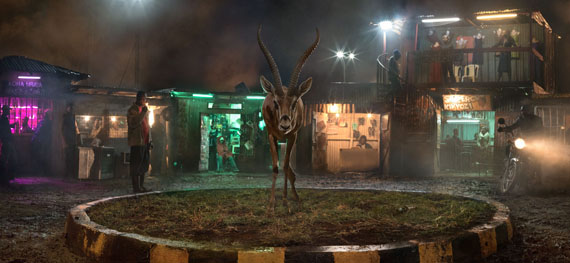 Nick Brandt: Roundabout with Gazelle, 2018 © Nick Brandt Courtesy ATLAS Gallery London