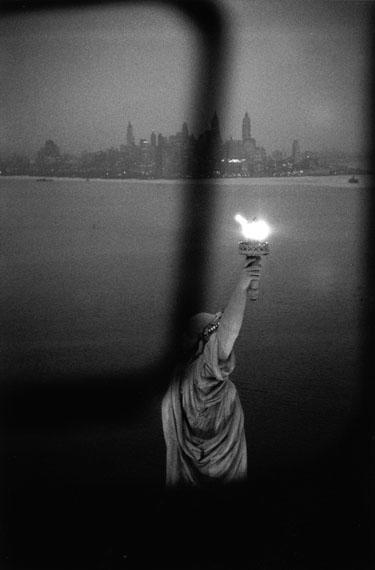 New York skyline, USA 1959© Rene Burri/Magnum Photos