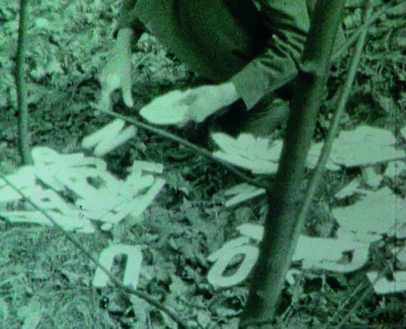Ewa PartumAktive Poesie, 1971/73Documentation of an action in the surroundings of Warsaw, PLGenerali Foundation Collection—Permanent Loan to the Museum der Moderne Salzburg© Generali Foundation / Bildrecht, Vienna, 2018