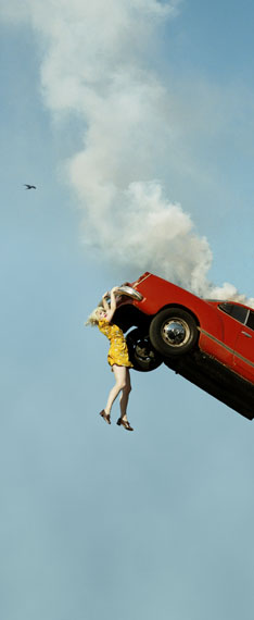 © Alex Prager, 3.32pm, Coldwater Canyon, 2012from the series CompulsionCourtesy Alex Prager Studio and Lehmann Maupin, New York and Hong Kong
