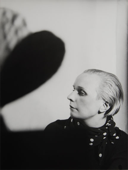 Florence HenriPortrait Composition (Nelly/Petro Van Doesburg), 1929/30 Gelatin silver print, printed 1977Signed, titled, dated, editioned on versoEdition 8 of 915.5 x 11.8 inches (39.5 x 30 cm)