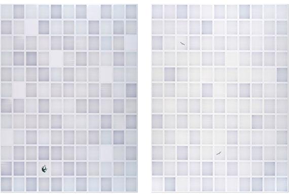 John Messinger, All of This Matters, Diptych 2018 © John Messinger, courtesy of Atlas Gallery