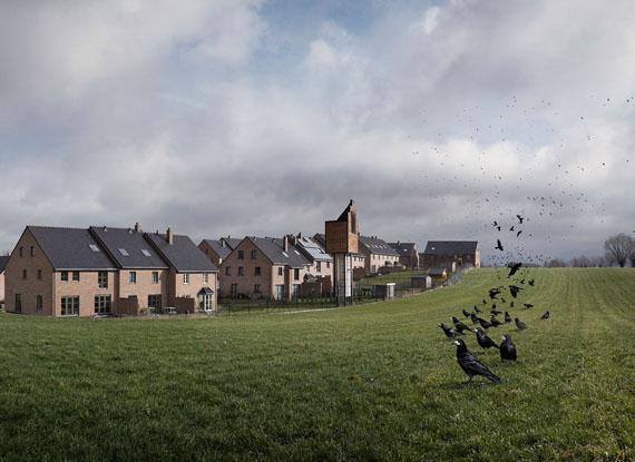 Vincent Debanne, Les Villages. Série coréalisée avec l'artiste Etienne François. Courtesy des artistes