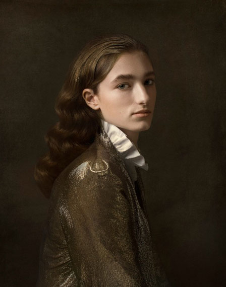 © Justine Tjallinks, Androgyny, from the series 'Modern Times, 2017