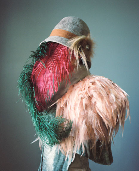 ©  Marie Hudelot, Camouflage Aux Plumes, from the series Heritage