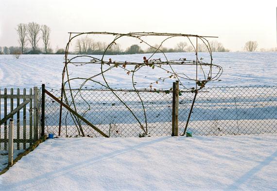 Simone Nieweg: Brombeerranken im Schnee, Holzheim, Rheinland, 2003, 139,5 x 180,2 cm© VG Bild-Kunst, Bonn 2018