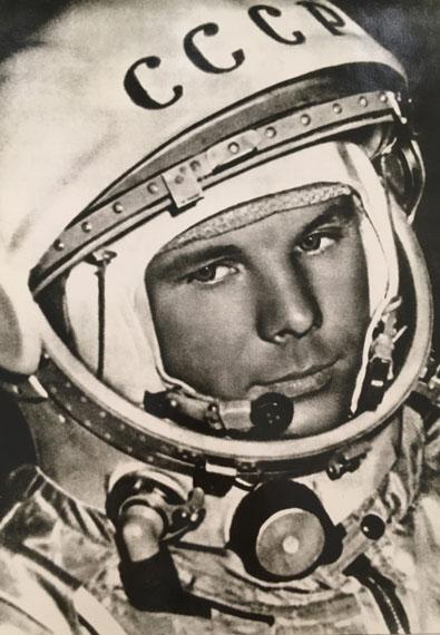 IGOR SNEGIREV, Yuri Gagarin, April, 1961, Vintage print, Stamp of Directorate of International Photo Exhibitions, SSOD on verso 34.7 x 25.3 cm