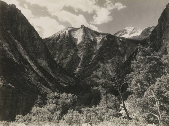 ANSEL ADAMSLower Paradise Valley, c.1927Vintage parmelian print© The Ansel Adams Publishing Rights Trust