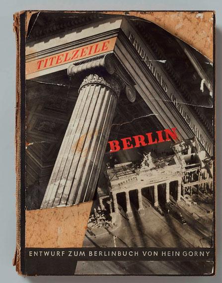 Hein GornyEntwurf zum Berlinbuch, 1946Design for a photo book32.4 x 24 x 4 cm. 84 pages€ 8,000 – 10,000Lot 53 / Auction 1120 Photography