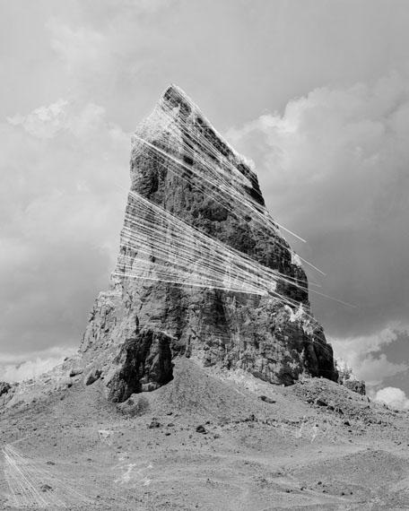 Trevor Paglen, Agathla Peak Hough Transform; Haar, 2018Courtesy of the Artist and Altman Siegel, San Francisco