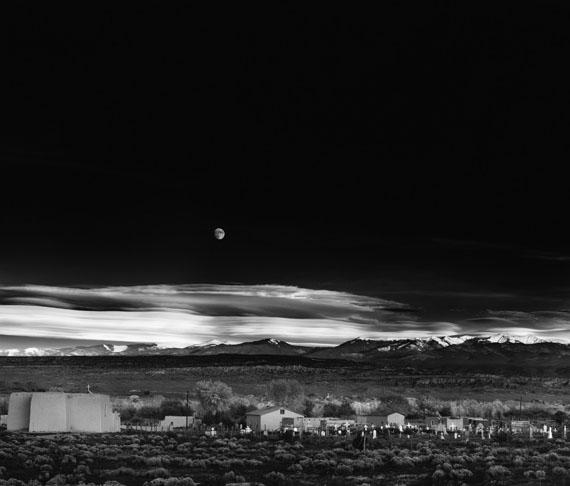 ANSEL ADAMSMoonrise, Hernandez, New Mexico, 1941Gelatin silver print © The Ansel Adams Publishing Rights Trust