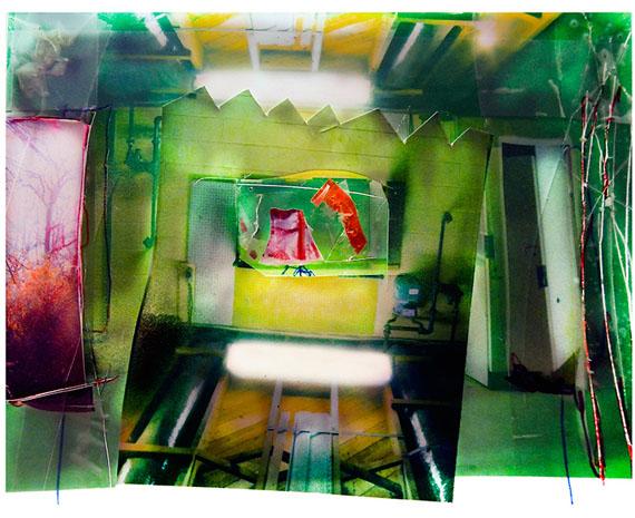 Untitled (Basement) 2018, Archival pigment print