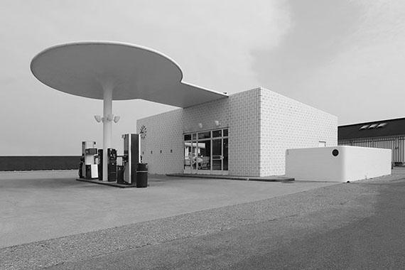 © Jean Molitor, Dänemark, Kopenhagen, Tankstelle Skovshoved, Arne Jacobsen, 1936