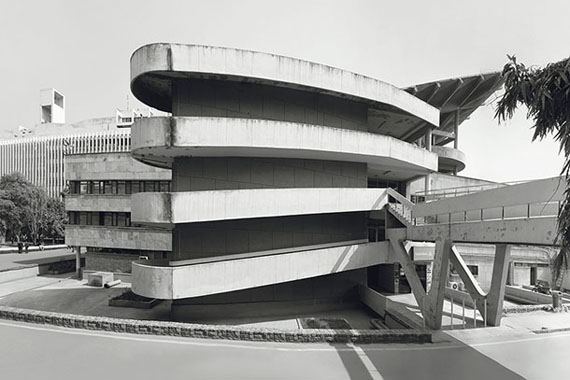 © Jean Molitor, Indien, Delhi, Institute of Technology Campus, Jugal Kishore, 1961
