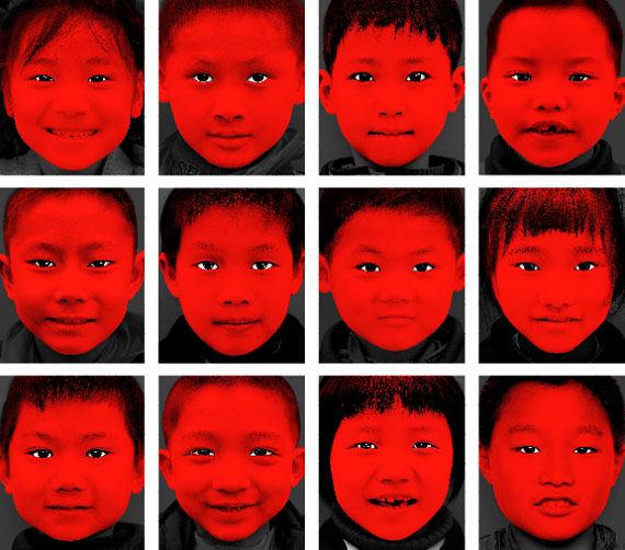 © Wang Xiaohui (China), Red Child No. 1/2/4/7/9/11/14/16/20/21/23/30, 2007