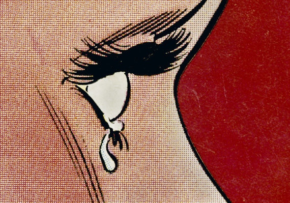Anne Collier: Woman Crying (Comic) #3, aus der Serie Women Crying, 2018 © Anne Collier; Courtesy of the artist; Anton Kern Gallery, New York; Galerie Neu, Berlinand The Modern Institute/Toby Webster Ltd., Glasgow