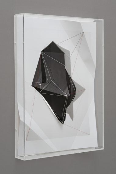 Christiane Feser: Modell Konstrukt #59, 2012, aus der Serie: Latente Konstrukte