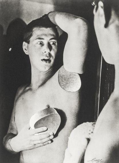Herbert Bayer: Selbstporträt, 1932© VG Bild-Kunst, Bonn, 2019courtesy Die Photographische Sammlung/SK Stiftung Kultur, Köln