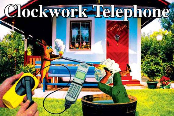 Marjetica Potrč, Clockwork Telephone, St. Peter Hauptstraße 29-35, Terassenhaussiedlung, SIGHT.SEEING, Graz 2003