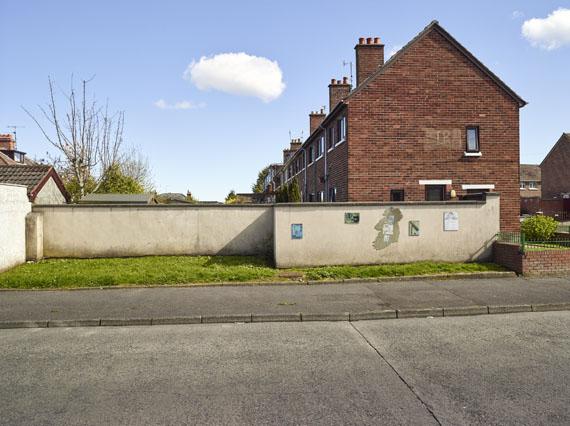 Roland Iselin: Graffiti on Wall, Andersonstown, Belfast, 2018