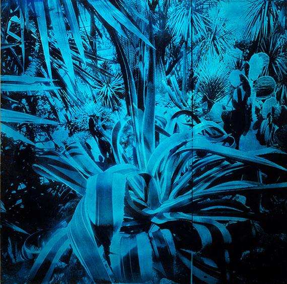 © ALFONS ALT, Agave Americana, 120x120 cm