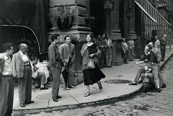 "© Ruth Orkin, ""American girl in Italy"", Florenz, 1951"