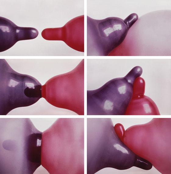Renate BertlmannZärtliche Berührungen, 1976/2009Digitalfotografie kaschiert auf Dibond, 97 x 95,5 cm© Renate Bertlmann© Richard Saltoun, London© Galerie Steinek, Wien