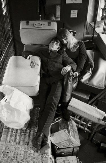 © Max Scheler 'Ringo Starr und Astrid Kirchherr', 1964 / Courtesy Johanna Breede PHOTOKUNST