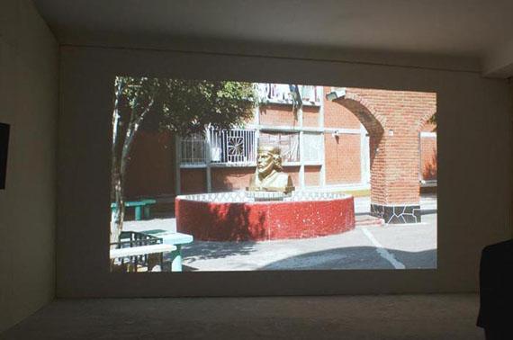 Minerva Cuevas Dissidence v 2.0, 2010HDV, Farbe, Ton 53'Installationsansicht 6. Berlin Biennale