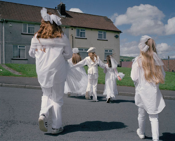 from <em>It's Called Ffasiwn</em> in collaboration with Charlotte James, 2017 (Wales)