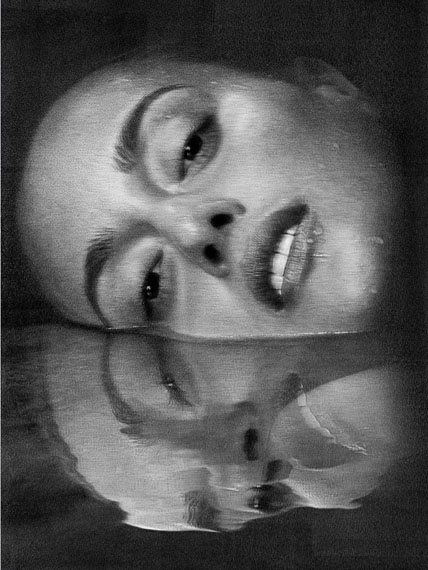 Erin, Water Reflection, New York City, 2011, INK