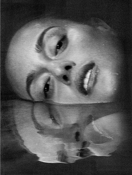 Erin, Water Reflection, New York City, 2011, INK, © Albert Watson