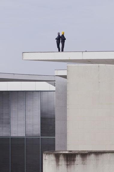 Wermke / Leinkauf, Terrorartists (Back to back), 2016 © Wermke / Leinkauf, VG Bild-Kunst, Bonn, 2019