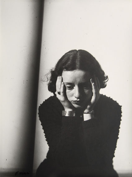 FLORENCE HENRIPortrait Composition, (Portrait of Lore Krüger), 1937Gelatin silver print, printed 1977Edition of 9© Martini & Ronchetti, courtesy Archives Florence Henri
