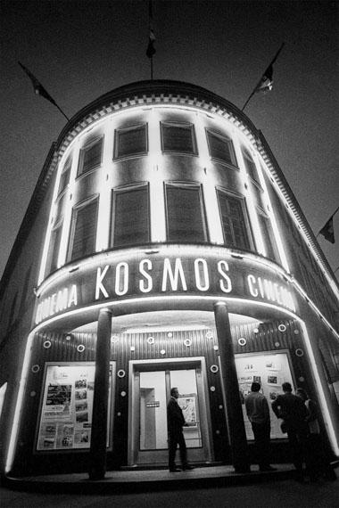 Willy Spiller: Cinema Kosmos, Badenerstrasse 109, Zurich 1974, 60 x 42 cm, Edition 5 & 2 AP
