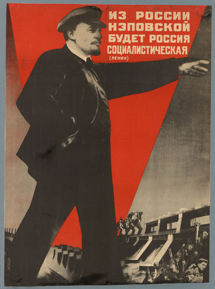 From the Russia of the NEP a socialist Russia will arise Gustav Klutsis, 1930