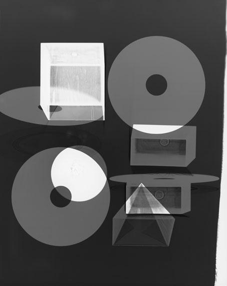 Doug FogelsonForms and Records No. 11, 2014Photogram, Silver Gelatin PrintCourtesy Doug Fogelson© Doug Fogelson