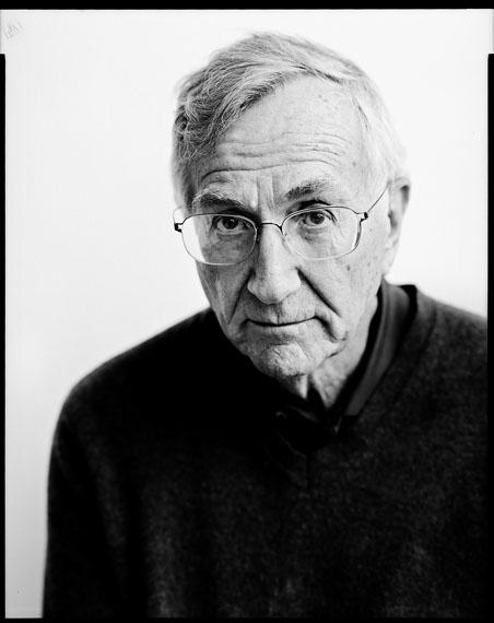 Seymour Hersh, investigative journalist, 12.3.201680 x 60 cm Baryt warmton© Oliver Abraham