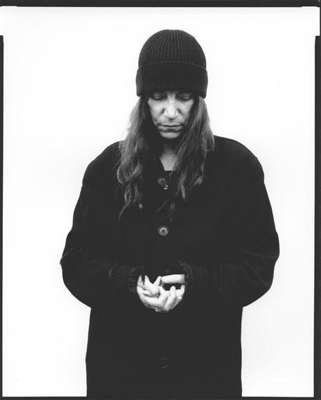 Patti Smith, musician, poet 19.3.201080 x 60 cm Baryt warmton© Oliver Abraham