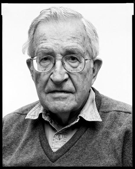 © Oliver Abraham, Noam Chomsky, linguist, 8.6.2011