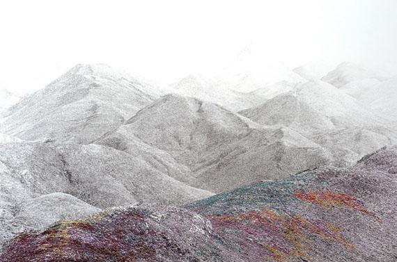 Iris Hutegger: LS Nr. 1712-233, 2017Silver gelatin print, embroidery36 x 55,5 cmunique piece