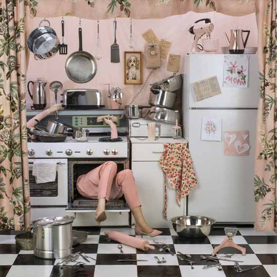 Patty CarrollCooking the Goose, 2017various sizesCatherine Couturier Gallery, Houston